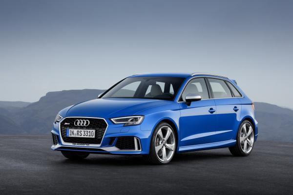 Restylage : l'Audi RS3 Sportback passe à 400 ch
