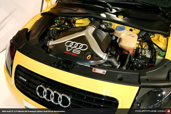 audi tt v6 bi turbo le prototype. Black Bedroom Furniture Sets. Home Design Ideas