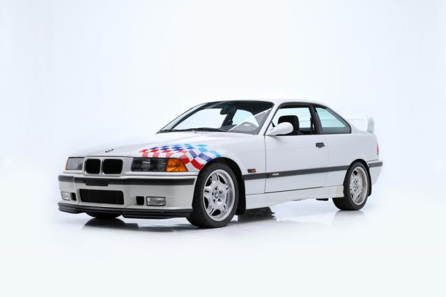 Vente record pour les BMW M3 E36 Lightweight de Paul Walker