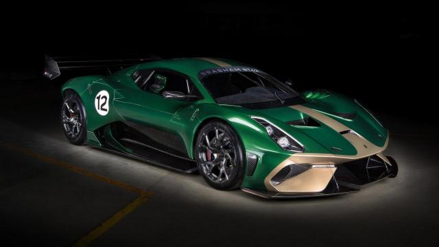 Brabham BT62 : la supercar track only