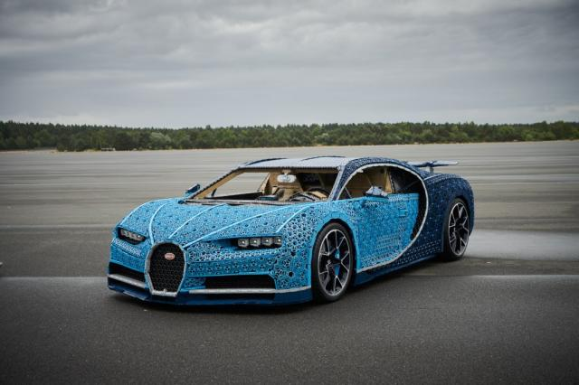 Une Bugatti Chiron A Taille Reelle En Lego