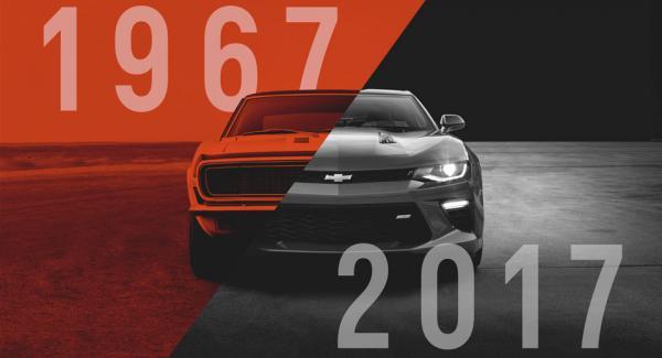 La Chevrolet Camaro a 50 ans