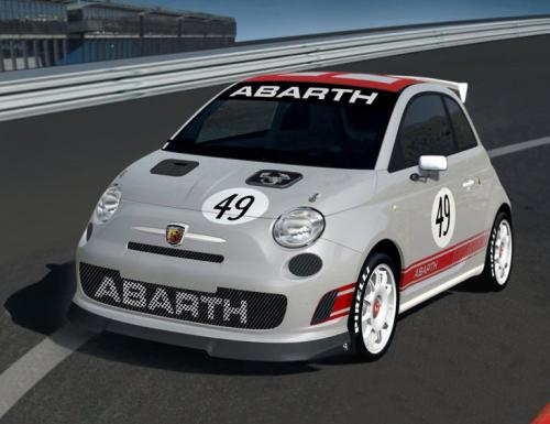 fiat 500 abarth assetto corse. Black Bedroom Furniture Sets. Home Design Ideas