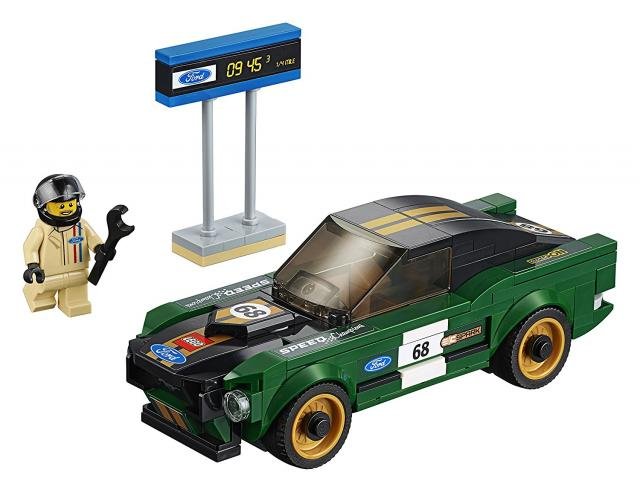 Lego adopte la Ford Mustang mkI
