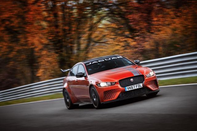 La Jaguar XE SV Project 8 est la nouvelle reine du Nürburgring