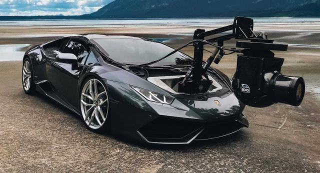 Huracam, la voiture caméra la plus rapide du monde