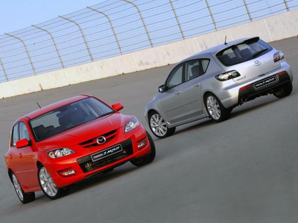 Chiffres de vente des Mazda 3 et 6 MPS