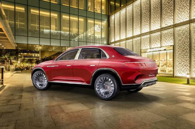 Mercedes-Maybach Ultimate Luxury Vision Concept