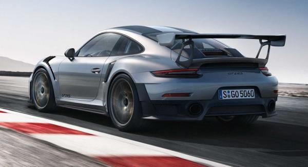 Rapport: Porsche 911 GT2 RS