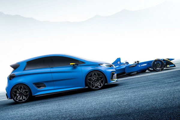 Zoé RS : Renault Sport y travaille !