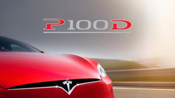 Tesla officialise la Model S P100D