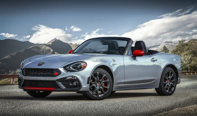 nouvelle gamme abarth 124 spider. Black Bedroom Furniture Sets. Home Design Ideas