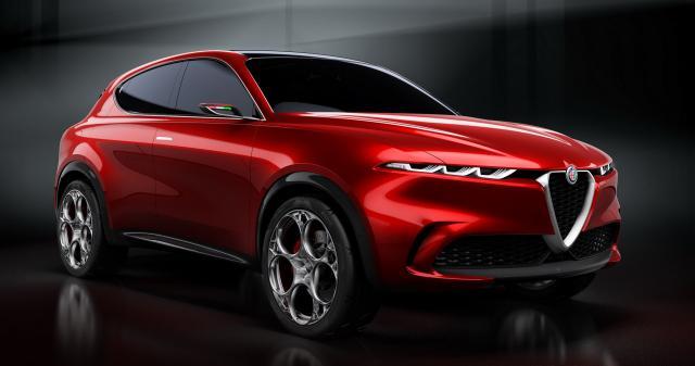 Concept Alfa Romeo Tonale