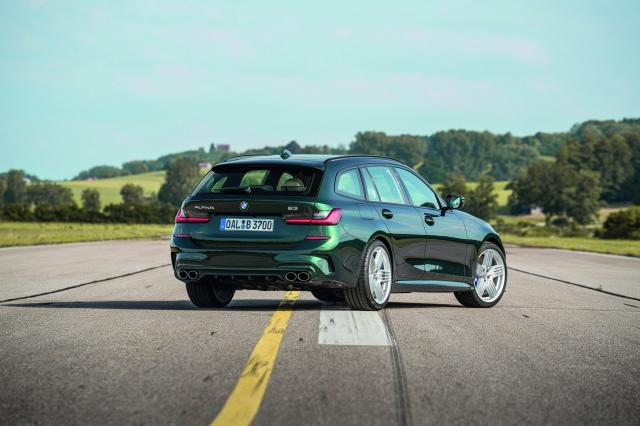 Alpina B3 Touring : de la balle de break