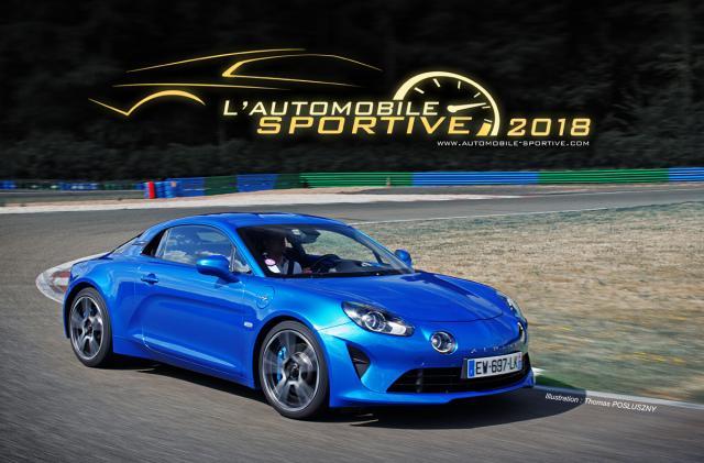 L'Alpine A110 élue Automobile Sportive de l'année 2018