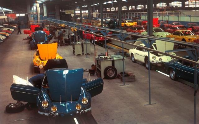 L'usine Alpine à Dieppe a 50 ans