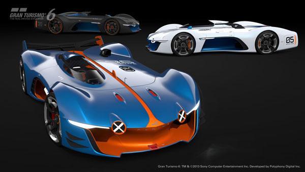 Alpine Vision Gran Turismo 6 Concept