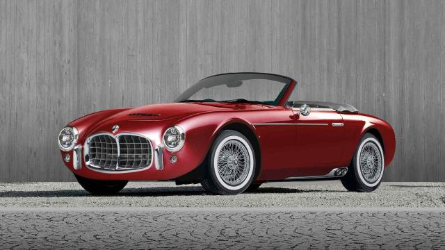 Ares Design Project Wami : un cabriolet Maserati Néo-Rétro