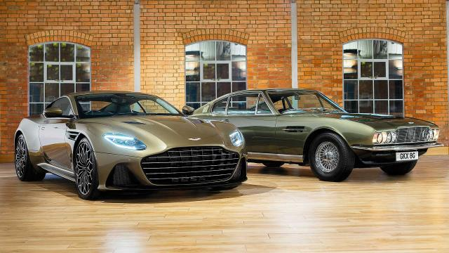 Série limitée : Aston Martin DBS Superleggera On Her Majesty's Secret Service