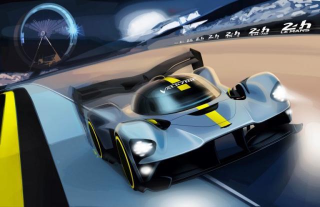 Aston Martin Valkyrie : aux 24H du Mans en 2021 !