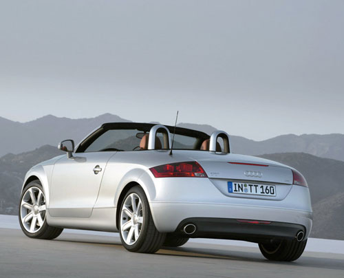 nouvelle audi tt roadster. Black Bedroom Furniture Sets. Home Design Ideas
