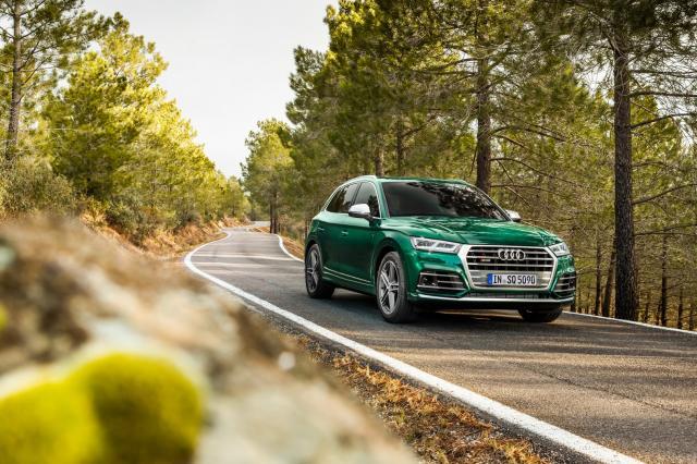Audi SQ5 TDI : en vert et contre tous