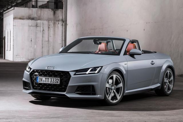 Série limitée : l'Audi TT fête ses 20 ans
