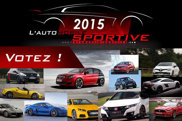 Election de L'Automobile Sportive 2015