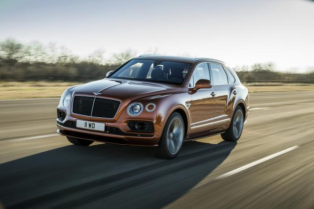 Bentley Bentayga Speed : more is more