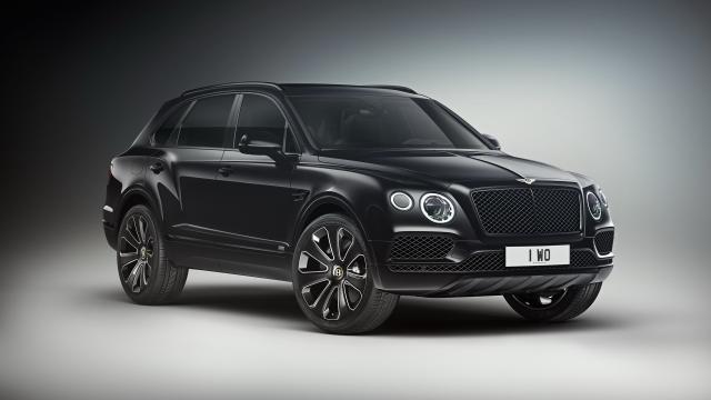 Série limitée : Bentley Bentayga V8 Design Series