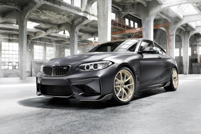 BMW M Performance Parts Concept : catalogue sur roues