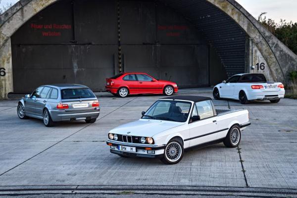 Les M3 tr�s sp�ciales de BMW M