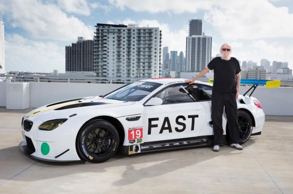 M6 GTLM : la 19eme Art Car de BMW est signée John Baldessari
