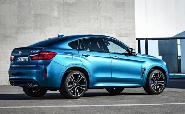 BMW X5 M et X6 M : d�mesure am�ricaine