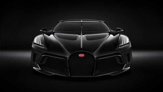 Bugatti présente La Voiture Noire, l'unique