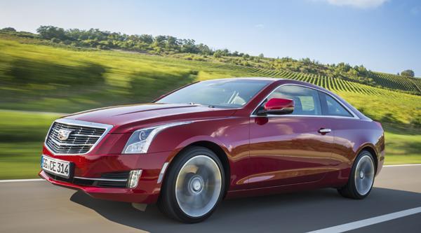 La Cadillac ATS Coupe arrive en Europe