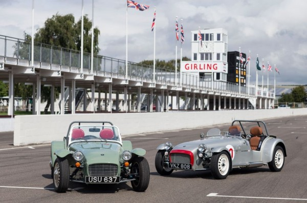 Caterham Seven Super Sprint : un air de sixties !