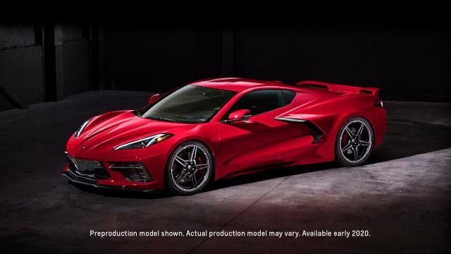 Chevrolet présente la nouvelle Corvette Stingray C8