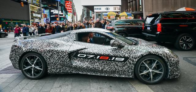 Chevrolet annonce une date pour la Corvette C8