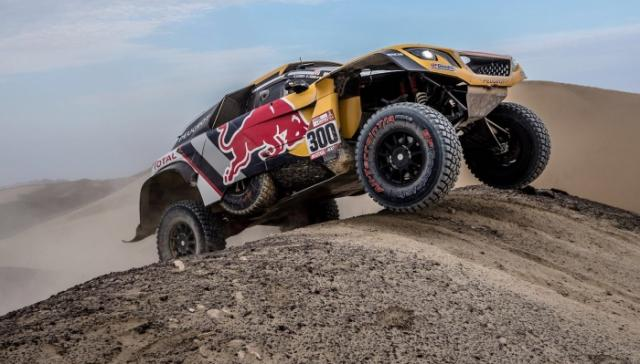 dakar 2018 peugeot prend la t te de course. Black Bedroom Furniture Sets. Home Design Ideas