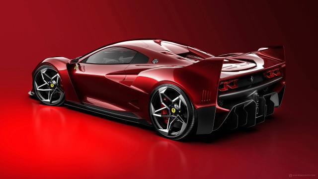 Design : Ferrari F40 Tribute, une F40 du 21è siècle