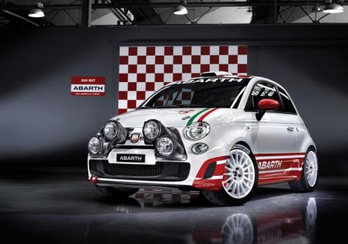 fiat abarth 500 r3t scorpion de comp tition. Black Bedroom Furniture Sets. Home Design Ideas