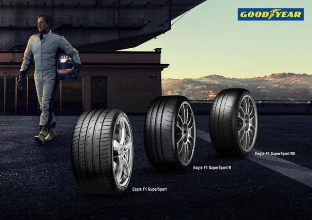 Pneus : Goodyear lance la gamme Eagle F1 SuperSport