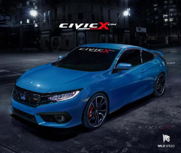 Honda Civic Coupé Type S ?