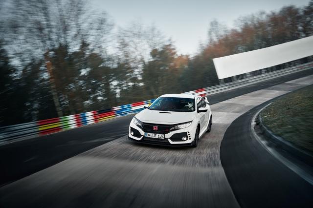 La Honda Civic Type R à la reconquête du Ring ?