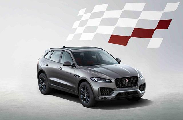 Séries limitées : Jaguar F-Pace 300 Sport et Chequered Flag