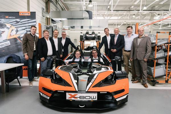 KTM célèbre son 1000ème X-Bow construit