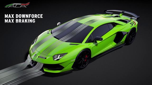 Lamborghini présente le système ALA 2 sur l'Aventador SVJ