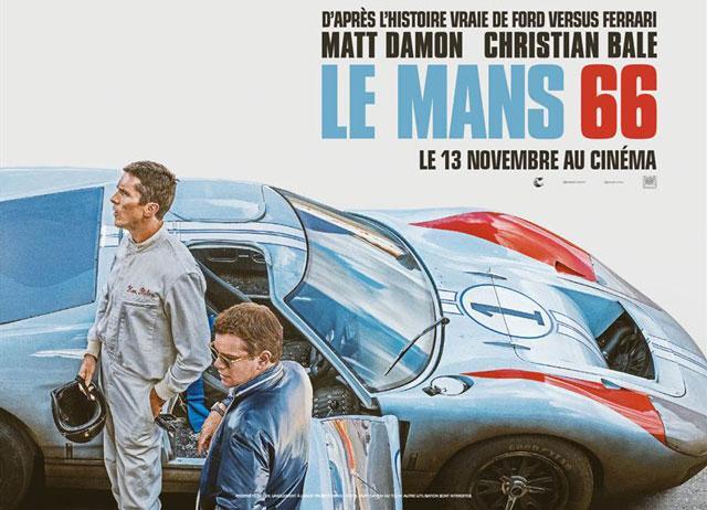 Cinéma : Le Mans 66, retour sur la légende de la Ford GT40