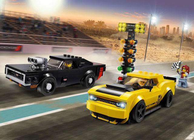 Les Dodge Challenger et Charger arrivent chez Lego !